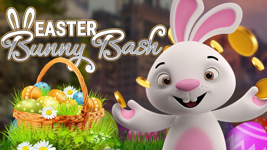 Easter Bunny Bash hoppening now at Casino GrandBay