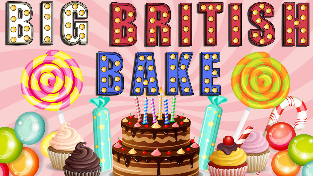 Take dough away with the Big British Bake now at Casino GrandBay!