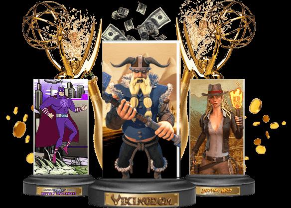 Bienvenue à nos Emmy Slot Awards
